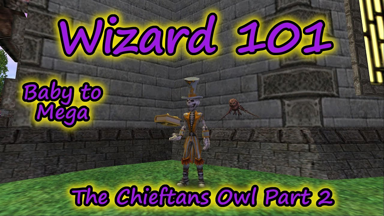Wizard101 Pet Training The Owl Protege Baby To Mega Doovi