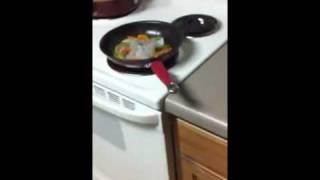Venison & Shrimp Fajitas