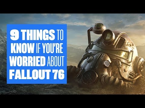 9 things you need to know if you're worried about Fallout 76 gameplay