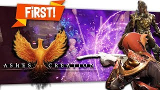 First Look at Action Combat In Ashes Of Creation Critical Reaction By Skylent