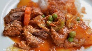 Beef MECHADO  Ulam Pinoy #27HD (Beef Stew in Tomatoes)