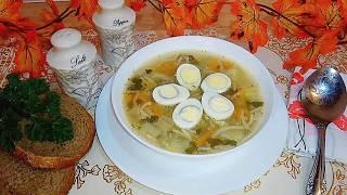 Куриный суп с вермишелью. Суп из детства.