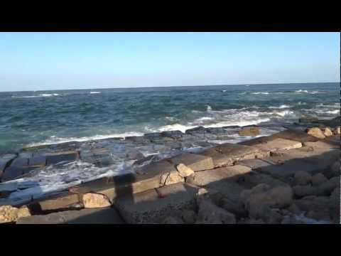 Alexandria, Egypt - Waterfront and the Citadel of Qaitbay HD (2013)
