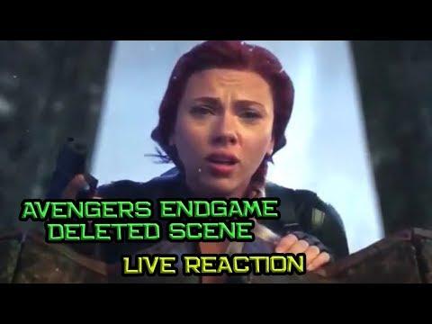 Deleted Scene Black Widow Dan Hawkeye Di Vormir Reaction -  Avengers Endgame Live Reaction