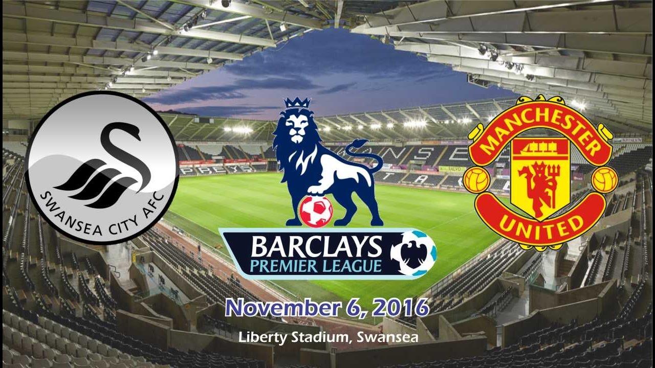 Download Swansea City vs Manchester United 1-3 Highlights 06/11/2016 | Cuplikan Gol - BPL 2016/2017 HD