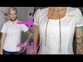 DIY Shirt To Blouse   Upcycle   Button Down Shirt Makeover