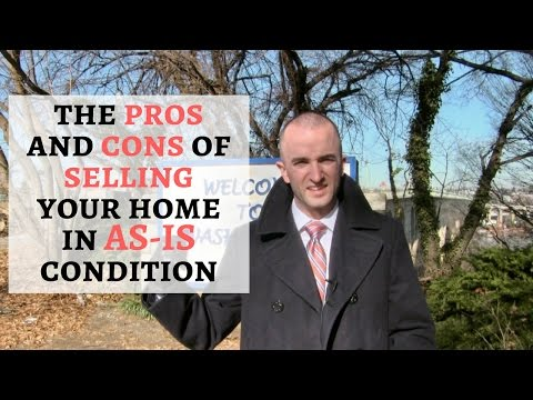 Selling House As Is | Pros and Cons of Selling Your Home in As-Is Condition