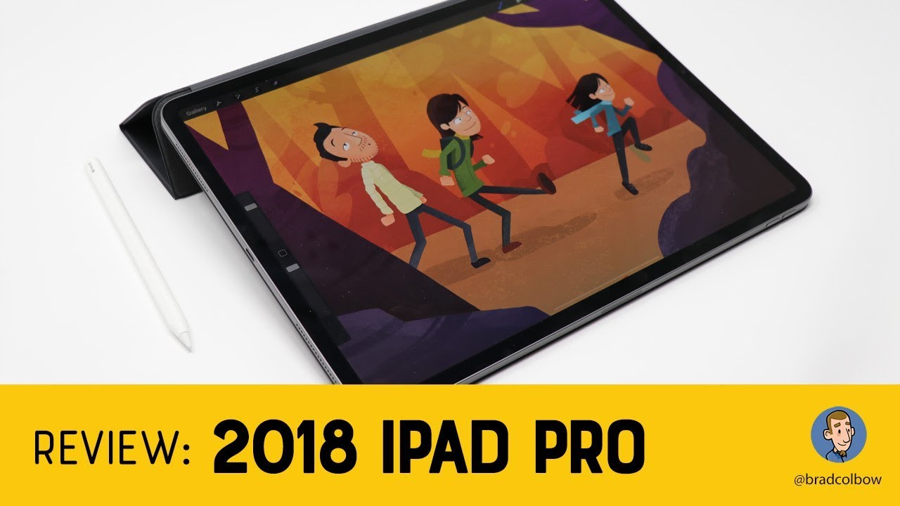 2018 iPad Pro and Apple Pencil - An Artist's Review