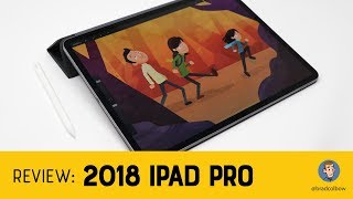 2018 iPad Pro and Apple Pencil - An Artist