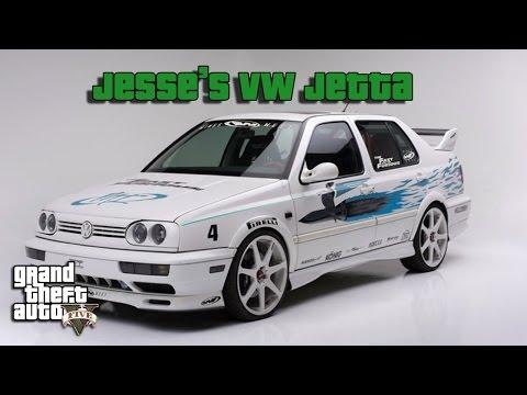 GTA 5 - How To Make Jesse's VW Jetta (Fast & Furious)