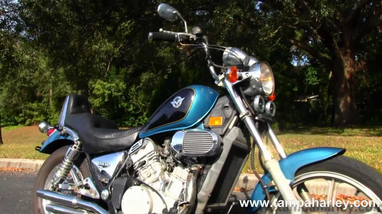 used 1995 kawasaki vulcan 750 for sale youtube. Black Bedroom Furniture Sets. Home Design Ideas