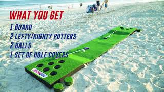 Putterball: The Fusion of Golf and Beerpong
