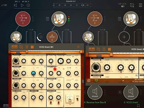 Let's Play With The iVCS3 - Live Stream Demo for the iPad