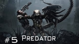 Aliens vs Predator - Walkthrough Predator Part 5