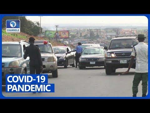 Residents In Ojodu Berger, Ikeja Defy Lockdown Directive
