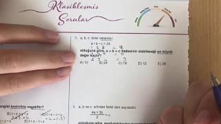 345 TYT Matematik GERÇEL SAYILAR-1 Test-4 Anlatımlı Çözümleri