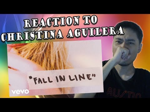 Christina Aguilera - Fall In Line ft. Demi Lovato (REACTION)