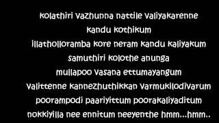 Chimmi chimmi (lyrics) - Peppy Malayalam song