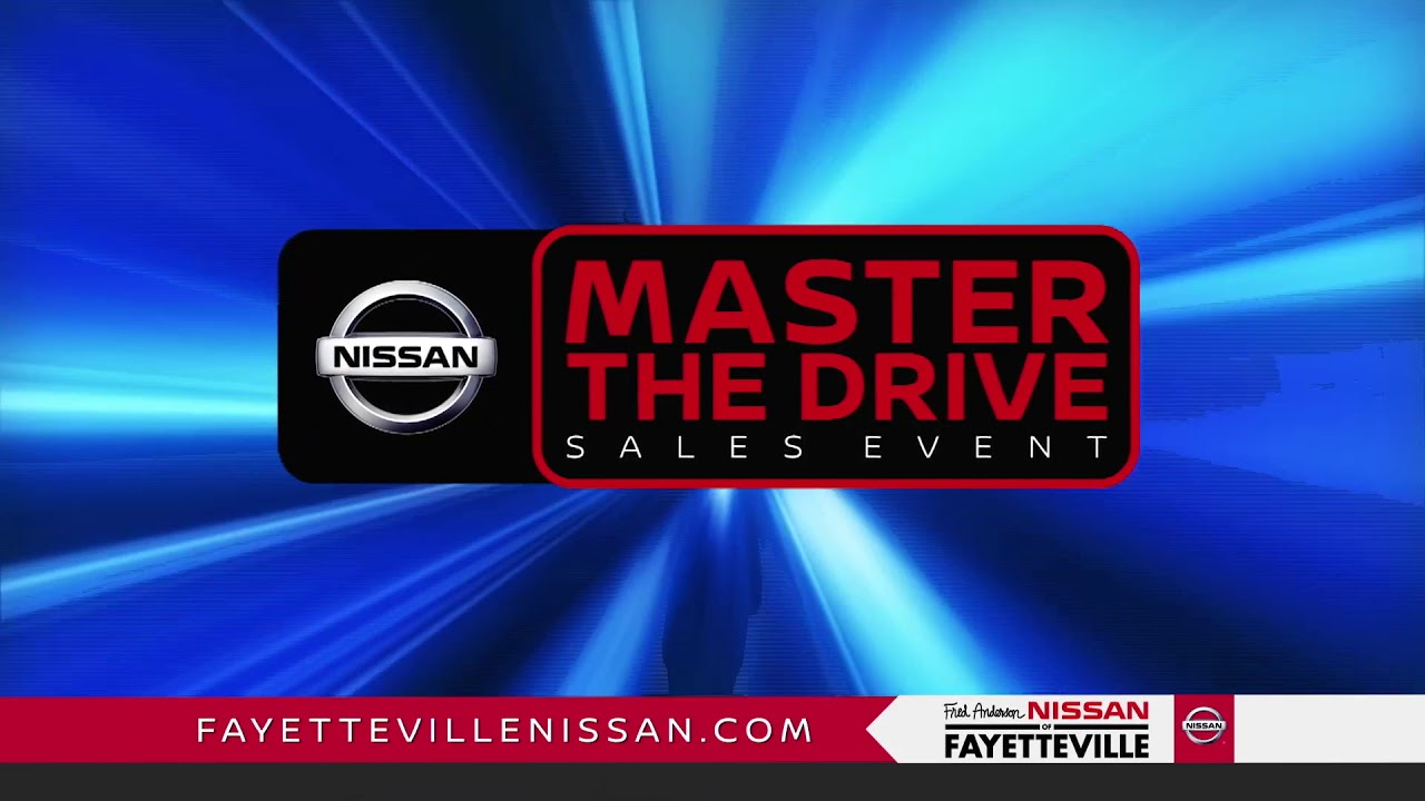 Fred Anderson Nissan Of Fayetteville   Master The Drive