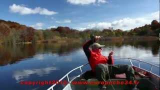 Pêche mouche en réservoir au lac de la landie saison 2012 - partie1 par Europêche34