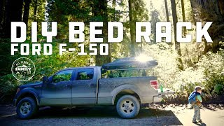 DIY Overlanding Pickup Truck Bed Rack for our Ford F 150