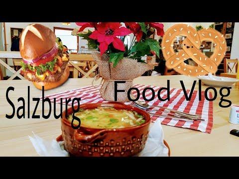 Salzburg - Yummy Vegetarian Food Vlog