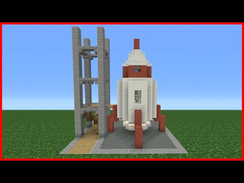 Minecraft Redstone Space Rocket Doovi