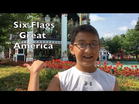 Koaster Kids at Six Flags Great America