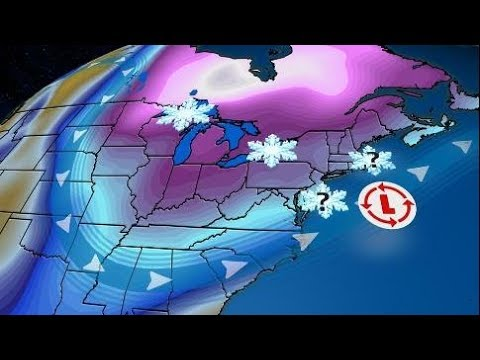 Snow From New York to Raleigh Possible Weather Wed Dec 6 2017