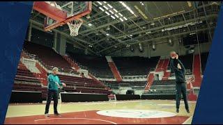 Уроки «Школы баскетбола»: средний бросок