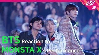 [Reaction Cam] BTS(방탄소년단) Reaction to MONSTA X(몬스타엑스) l 2019…