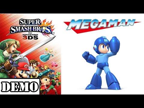 [Demo] Super Smash Bros 3DS - Mega Man
