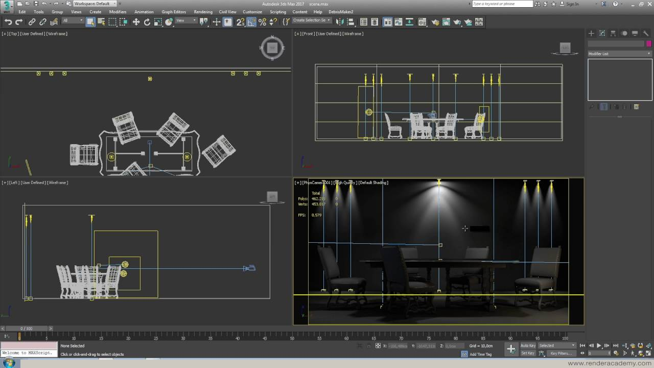 & How to use lights in 3ds Max 2017 - YouTube
