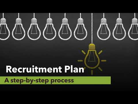 Recruitment Plan - A step-by-step process guide