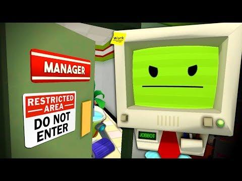 INSIDE JOB BOT'S OFFICE - Finding Secrets - Job Simulator VR #14