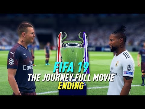 FIFA 19 Alex Hunter THE JOURNEY FULL MOVIE ENDING (all cutscenes/cinematics) Chapter 4
