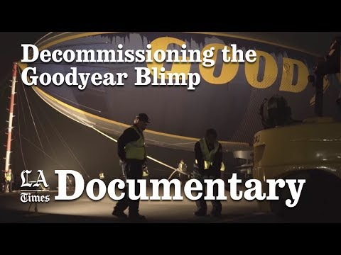 Goodyear's Southern California-based blimp, the Spirit of Innovation, is decommissioned