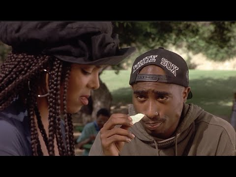 2PAC-POETIC JUSTICE (1993) MOVIE REVIEW