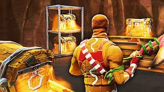 3 SECRET PASSAGE on FORTNITE Battle Royale!!