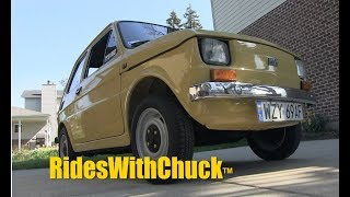 A 1983 Fiat 126p The Polski Fiat  YES, We go for a ride!