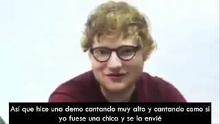 Ed Sheeran habla sobre escribir para Camila Cabello [Subtitulado]