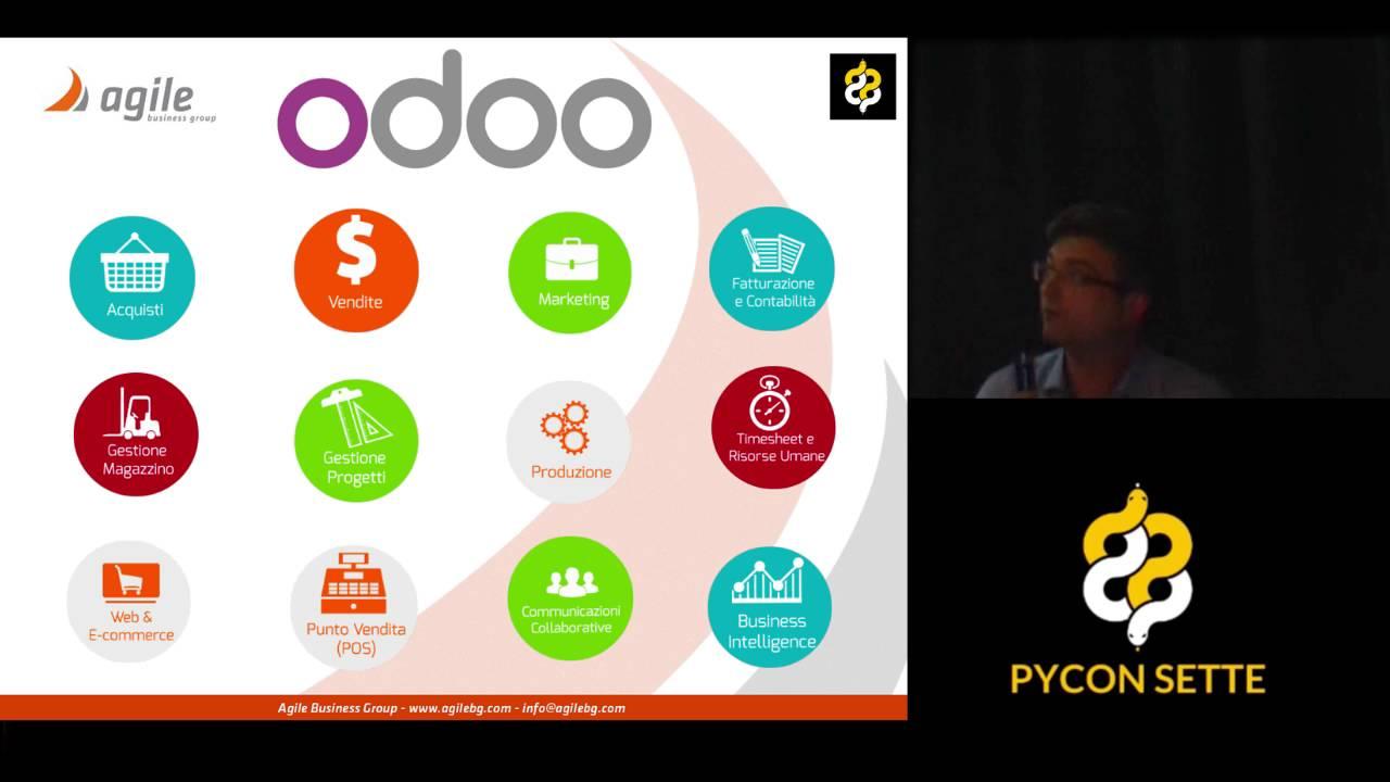 Image from Odoo in Italia la suite di applicazioni business scritta in python