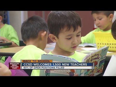 Clark County School District addresses teacher shortage