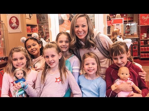 Best Friends Visit The American Girl Store