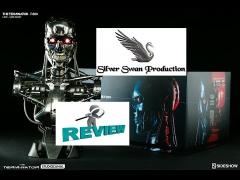 Terminator T-800 life size bust sideshow collectible Review