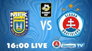 Zemplin Michalovce vs Slovan Bratislava full match