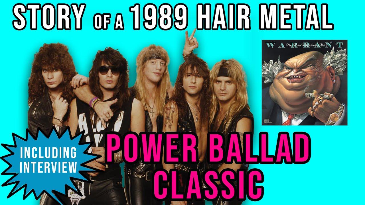 Story of 80s Hair Metal Power ballad Heaven by Warrant | Premium | Professor of Rock