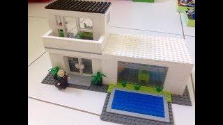 Como Construir uma Casa Moderna de Lego 1