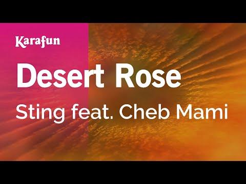 Karaoke Desert Rose - Sting *