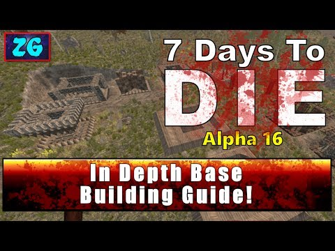 COMPLETE Best Base Defenses :: 7 Days To Die :: Alpha 16 ::